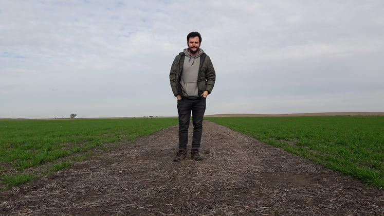 2008 - La agricultura, al detalle. Aníbal Serra, en Tandil - Foto principal